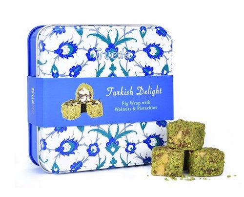 Fig, Walnut and Pistachio Turkish Delight Tin 125g