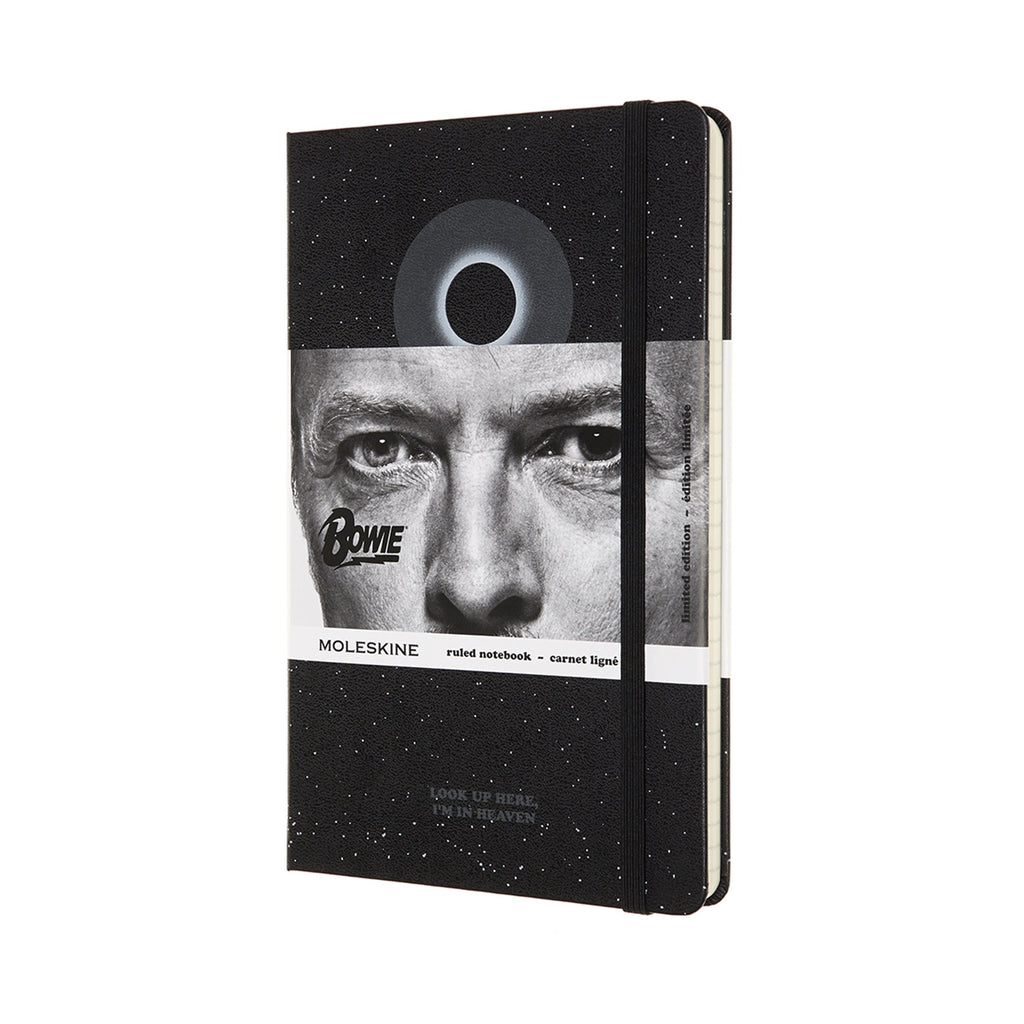 Moleskine Black Limited Edition David Bowie Large Ruled