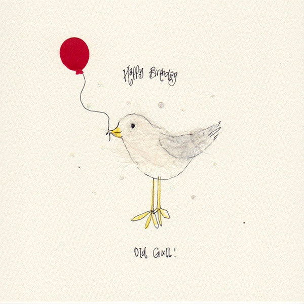 Happy Birthday Old Gull Card