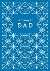 Legendary Dad Pattern Card
