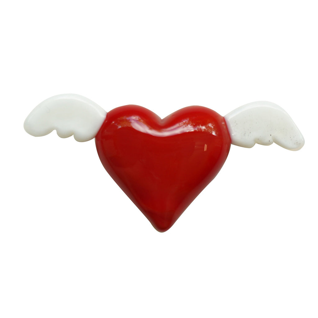 Winged Glass Heart