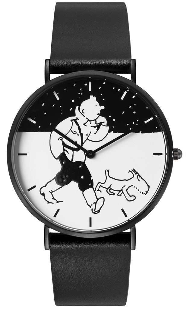 Tintin Watch - Land of the Soviets - City Snow - Small