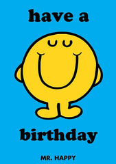 Mr Men Have a Happy Birthday Card