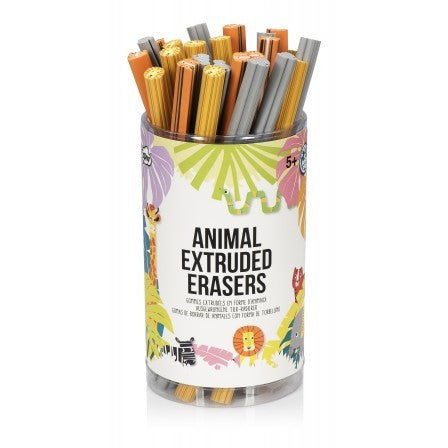 Extruded Animal Eraser