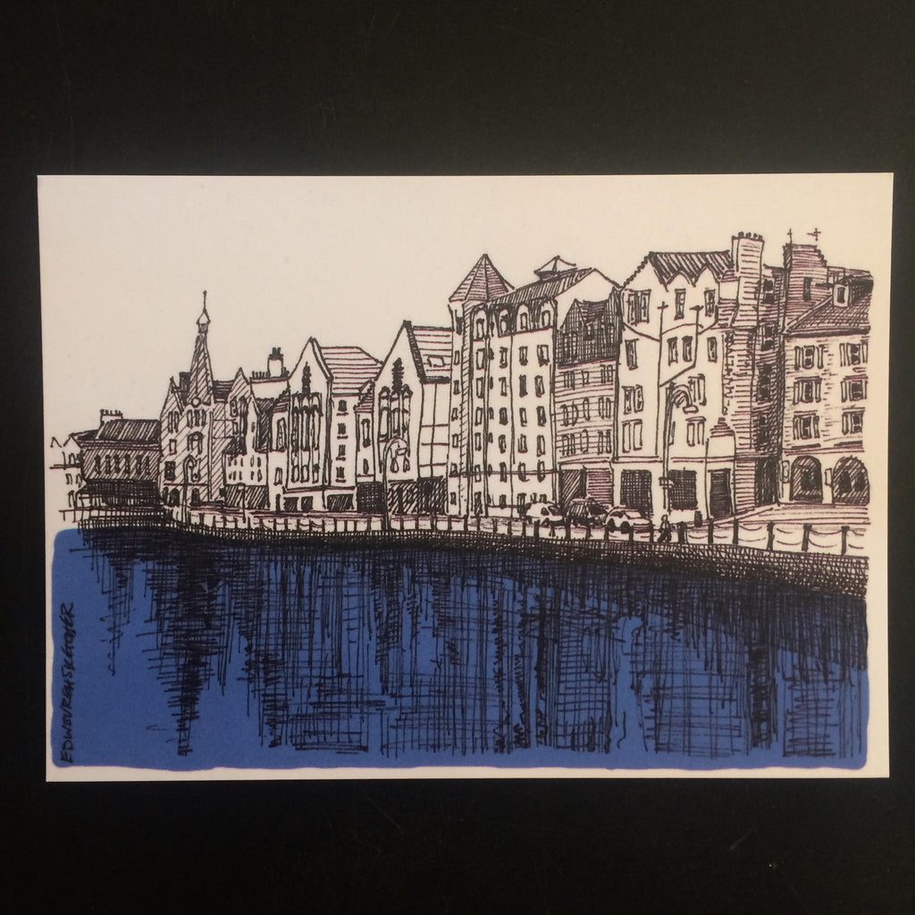 Leith Sketch Postcard