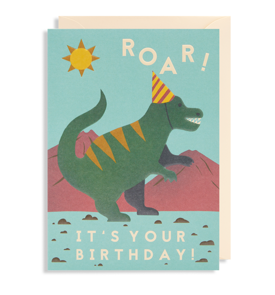 Roar! It's Your Birthday Card