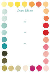 Pack of 8 Lulu's Palette Party Invitations