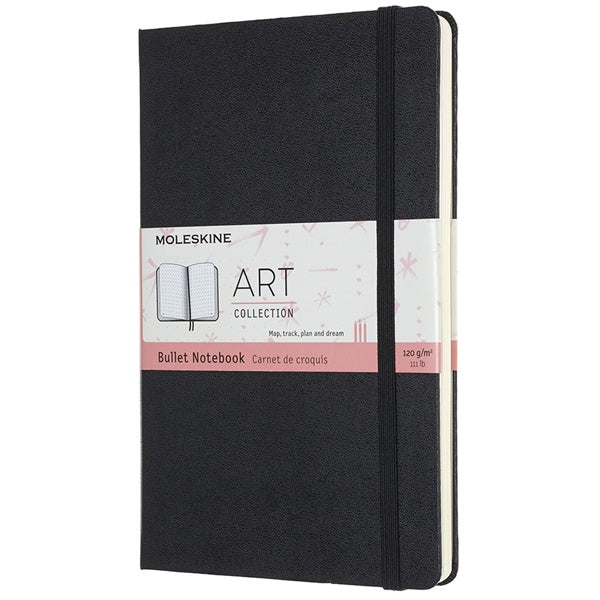 Moleskine Art Bullet Notebook Large Black
