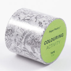 Washi Tape XL Insects Colouring Activity
