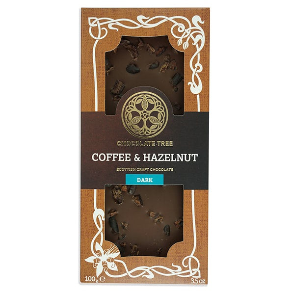 Organic Dark Chocolate Coffee and Hazelnut