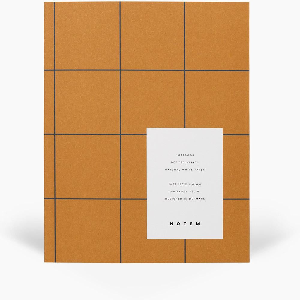Uma Flatlay Ochre Notebook by Notem