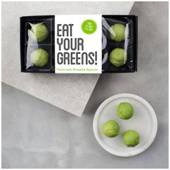 Eat Your Greens!  Milk Chocolate Sprouts