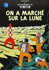 On a Marche Sur La Lune Postcard