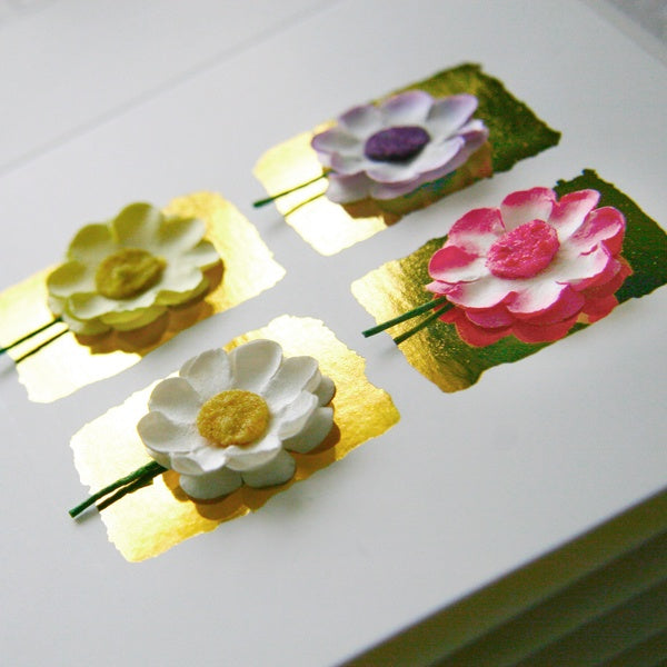 Happy Mother's Day 4 Daisies Card