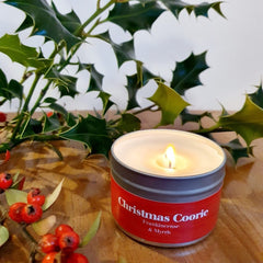 Paper Tiger Christmas Coorie Frankincense & Myrrh Small Candle Tin