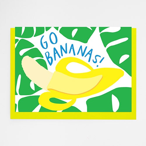 Go Bananas Card