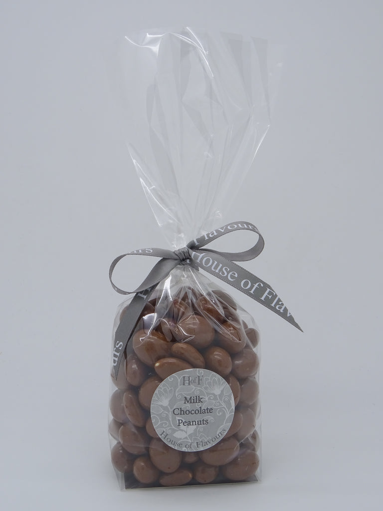 Luxury Bag of Milk Chocolate Peanuts