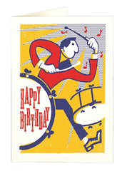 Birthday Drummer Card