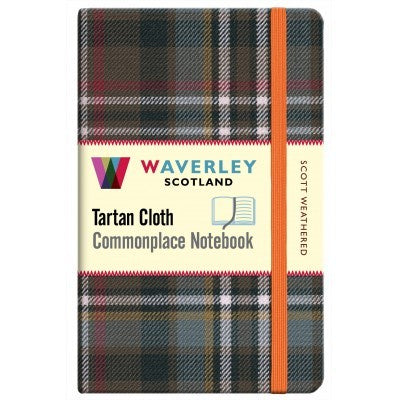 Tartan Cloth Notebook - Scott Weathered