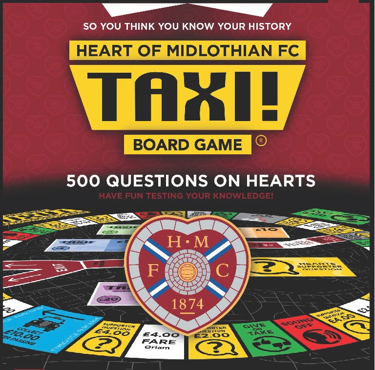 Hearts FC Taxi Board Game