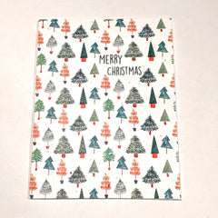Merry Christmas Pattern Seed Card