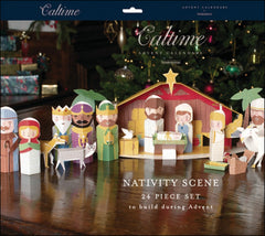 3D Nativity Advent Calendar