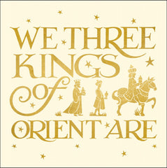 Emma Bridgewater We Three Kings Christmas Card