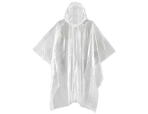 Emergency Rain Poncho Assorted Colours