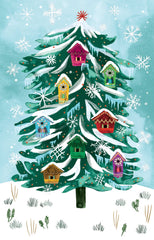 Treehouse Conifer Christmas Card Pack