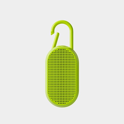 Mino T Speaker by Lexon Fluorescent Yellow