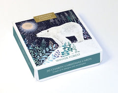 Winter Forest Charity Box of 20 Cards
