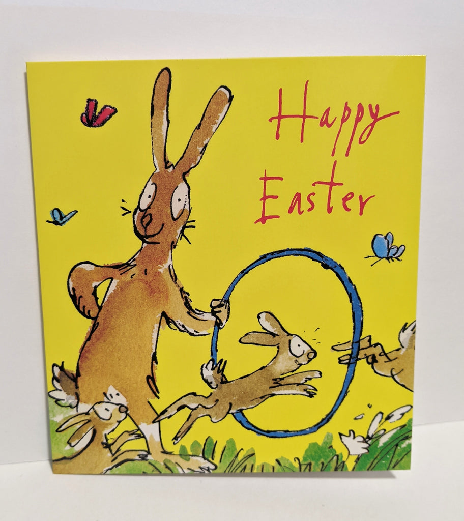 Happy Easter Rabbits Quentin Blake Pack of 5 Cards