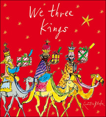 Quentin Blake We Three Kings Charity Pack of 5 Cards