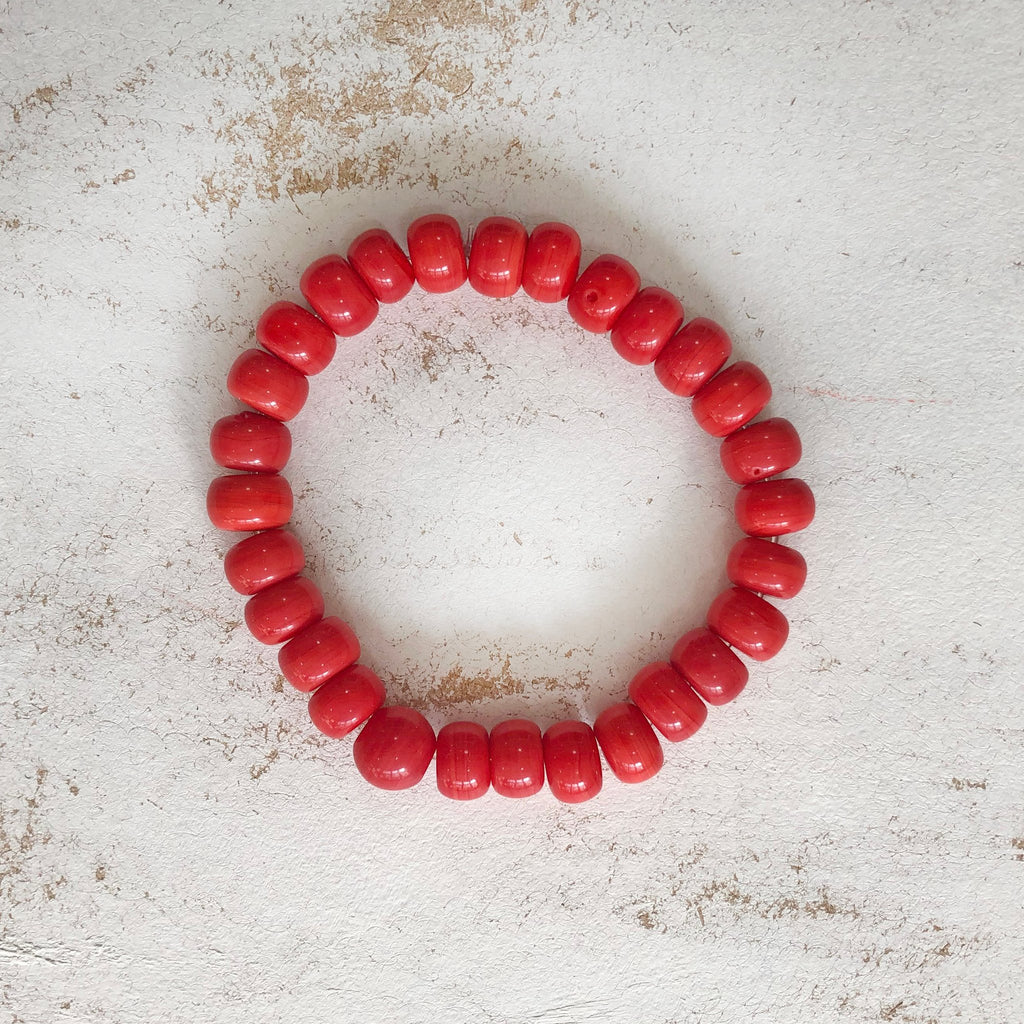 Nailo Opaque Eco Red Bracelet