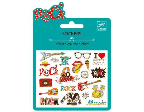 Pop and Rock Music Stickers