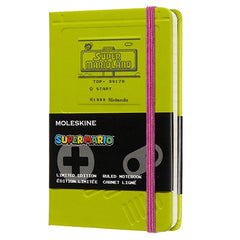 Moleskine Limited Edition Super Mario Game Boy Ruled Pocket Notebook