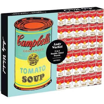 Andy Warhol Soup Can 500 Piece Puzzle
