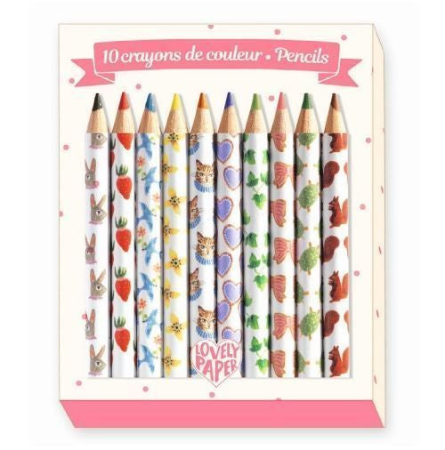Colouring Pencils Pack of 10