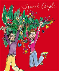 Quentin Blake Special Couple Christmas Card