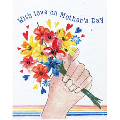 Love on Mother's Day Seed Card