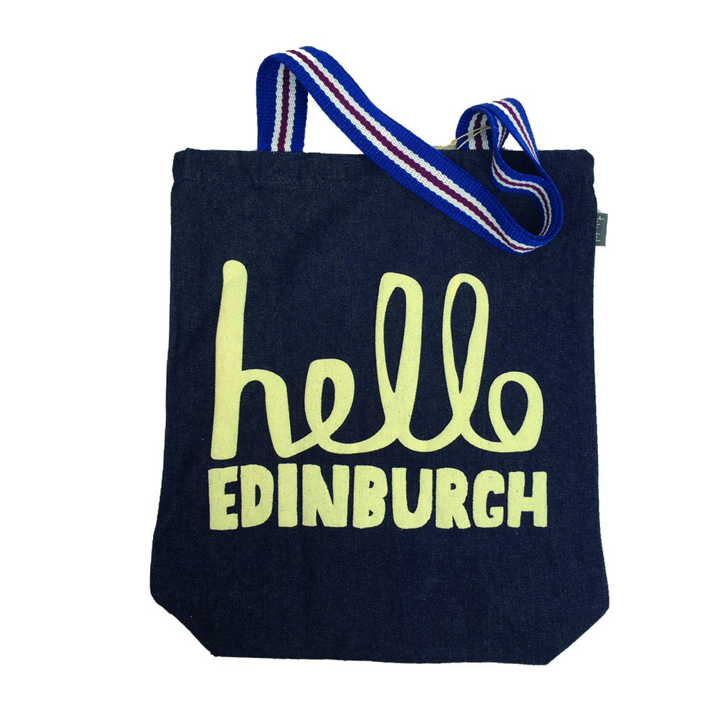Hello Edinburgh Tote Bag