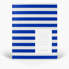 Uma Medium Flatlay Weekly Planner Bright Blue