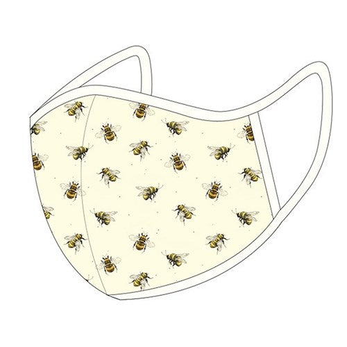 Bees Medium Face Mask