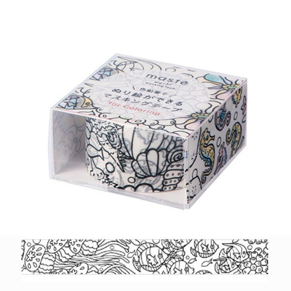 Washi Tape For Colouring Flowers 25mm