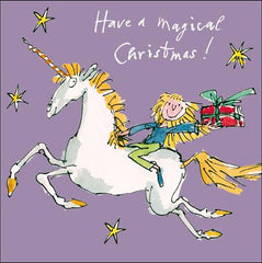 Magical Flight Christmas Card