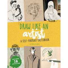 Draw Like an Artist Self-Potrait Sketchbook