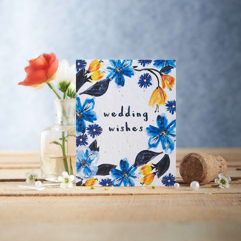 Wedding Wishes Seed Card