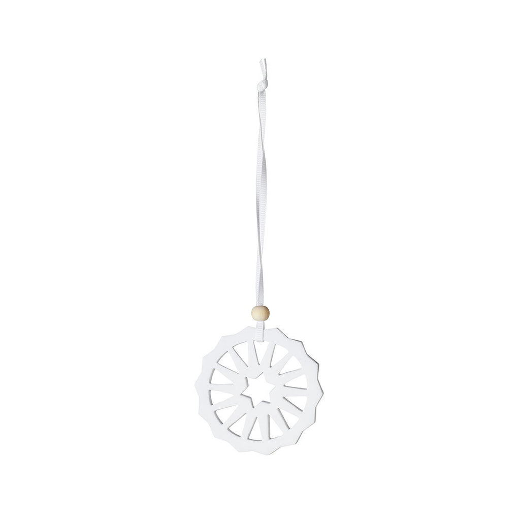 Circle Porcelain Ornament