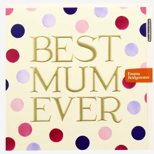 Best Mum Ever by Emma Bridgewater Card