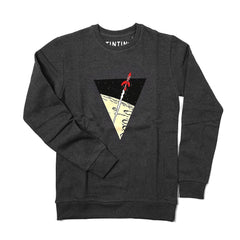 Tintin Rocket Sweatshirt Charcoal Grey